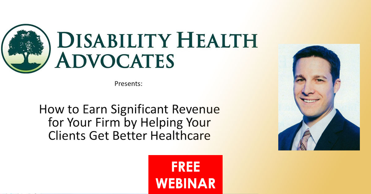 Webinar: Help Clients Get Better Healthcare and Earn Extra Revenue for Your Firm