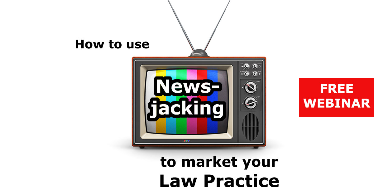 Webinar: How to Use Newsjacking to Market Your Practice