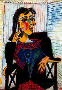 'Portrait of Dora Maar' by Pablo Picasso