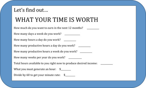 what-your-time-is-worth