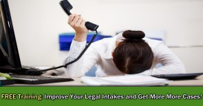 Improve your law firm intakes!