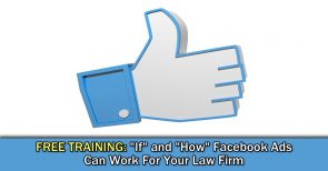 Facebook Advertising for law firms - pilmma