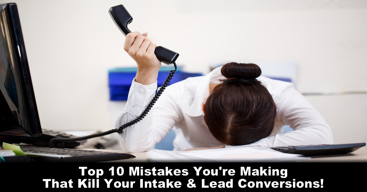 INTERVIEW: 10 Mistakes That Kill Your Intake And Conversion Rate w/ Stephen Fairley
