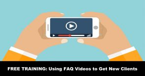 legal faq videos to get more clients