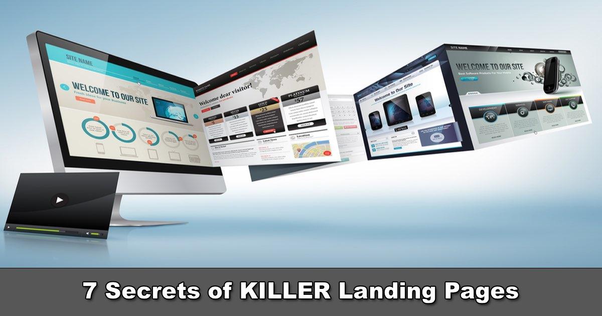 FREE TRAINING: 7 Secrets of Killer Landing Pages w/ Frankie Fihn