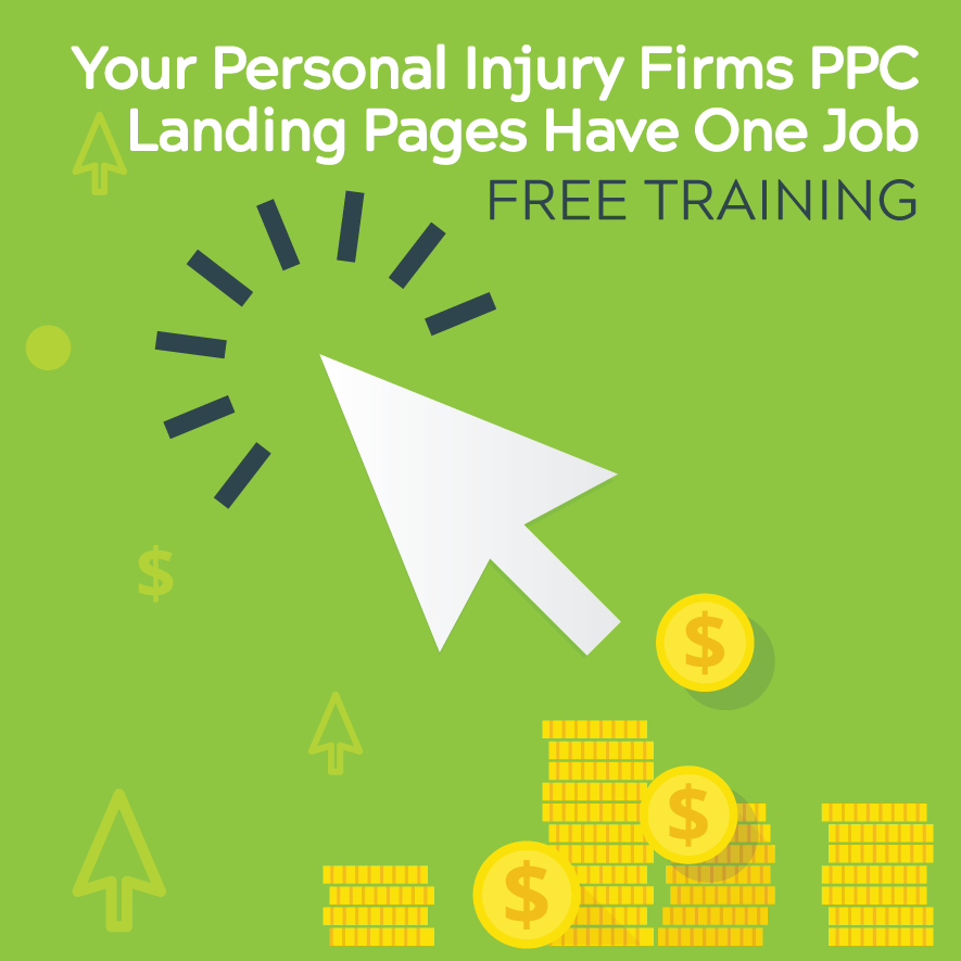 Your Firm's PPC Landing Pages Have One Job with Consultwebs