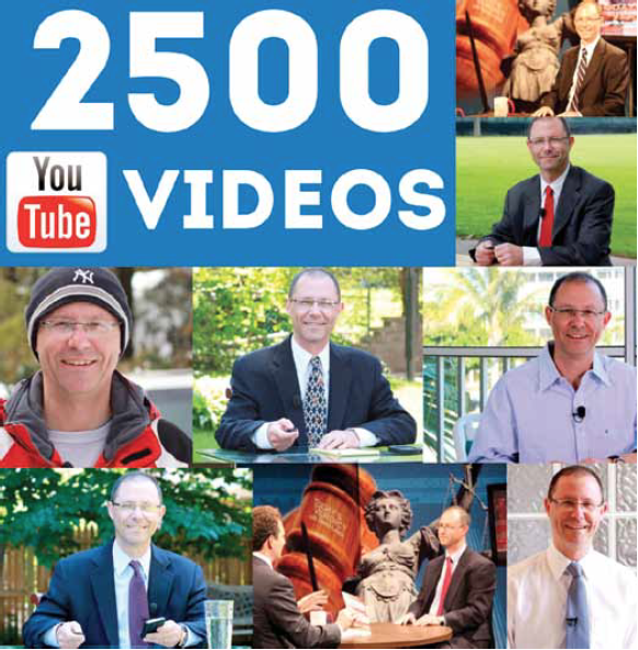 A Video Marketing Milestone – 2500 Videos! 10 Years' Worth of Video Marketing Lessons by Gerry Oginski