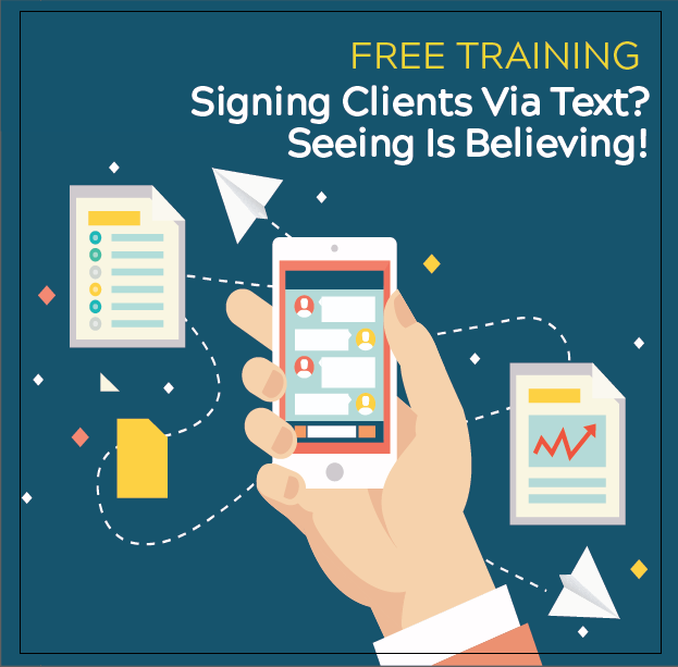 Signing Clients Via Text? Seeing Is Believing! with Captorra