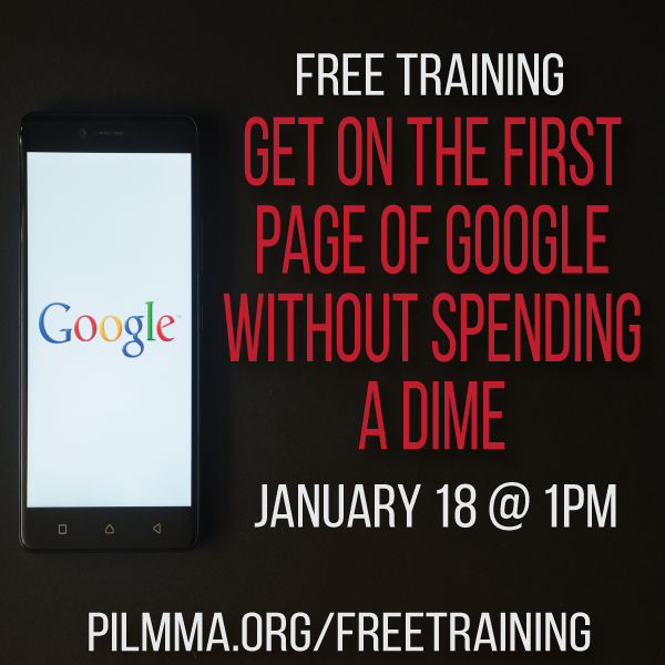 FREE TRAINING: How to Get on the First Page of Google Without Spending a Dime with Ken Hardison