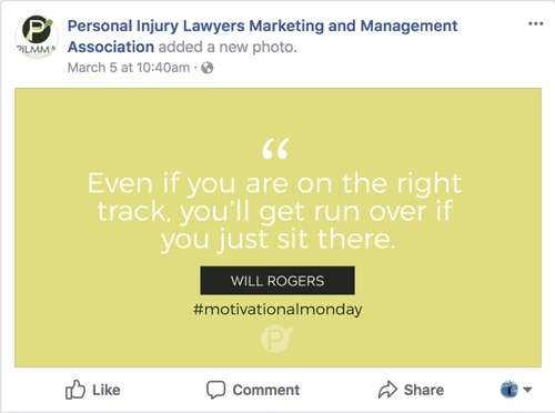 lawyer motivation, crisp video, pilmma, legal marketing, social media marketing for lawyers, personal injury lawyer marketing, internet marketing for lawyers