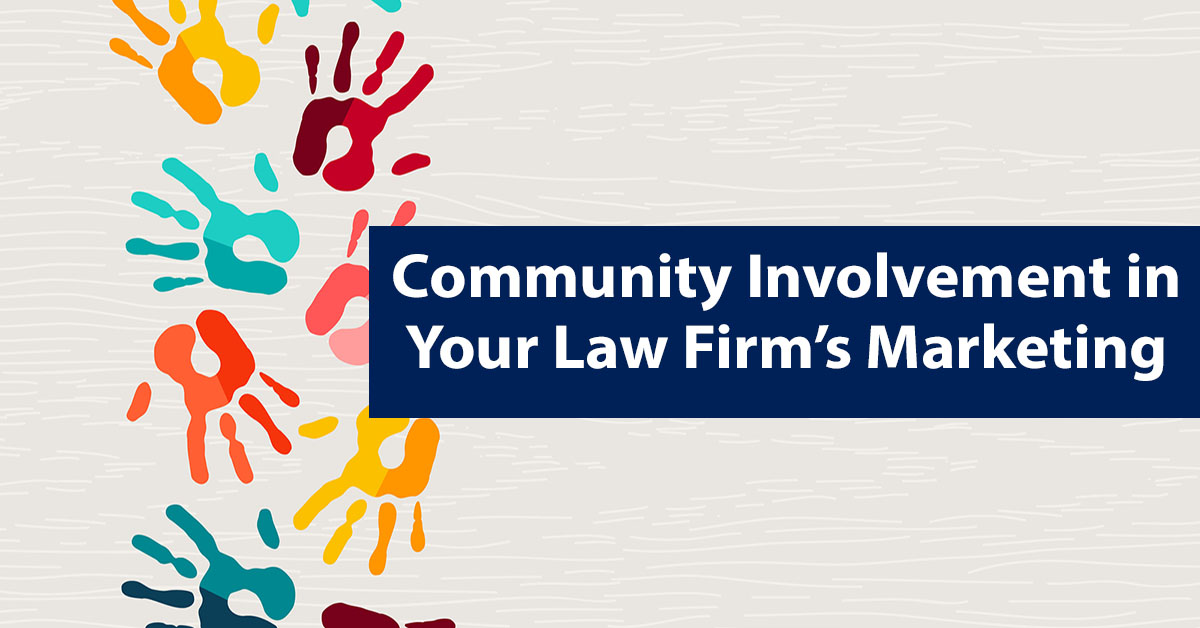 community, law firm community involvement, charity, law firm charity, social media charity