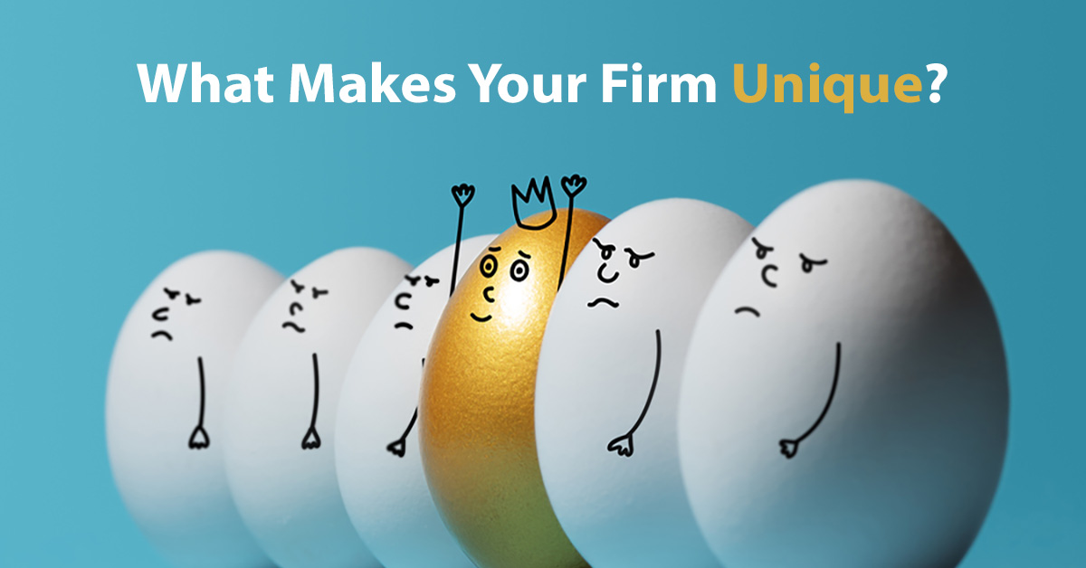 3 Factors That Determine Your Law Firm's Unique Value Proposition