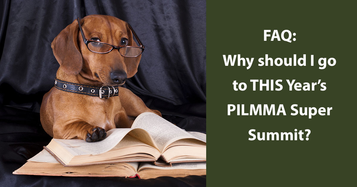 FAQ:Why Should I Go To THIS Year's PILMMA Super Summit?
