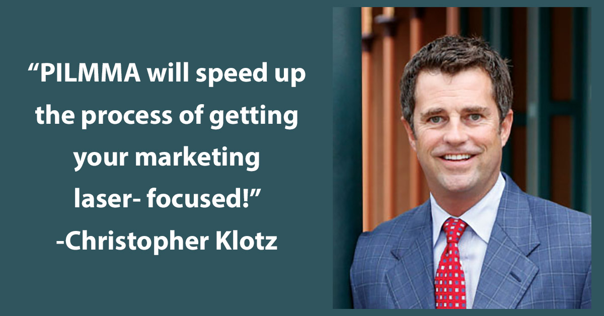 Testimonial Tuesday: Christopher Klotz!