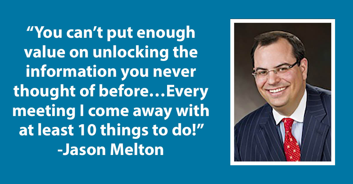 Testimonial Tuesday: Jason Melton!
