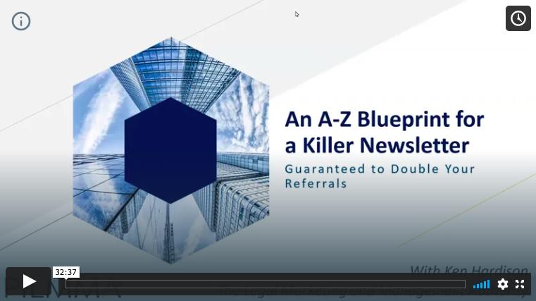 A to Z Blueprint for a Killer Newsletter