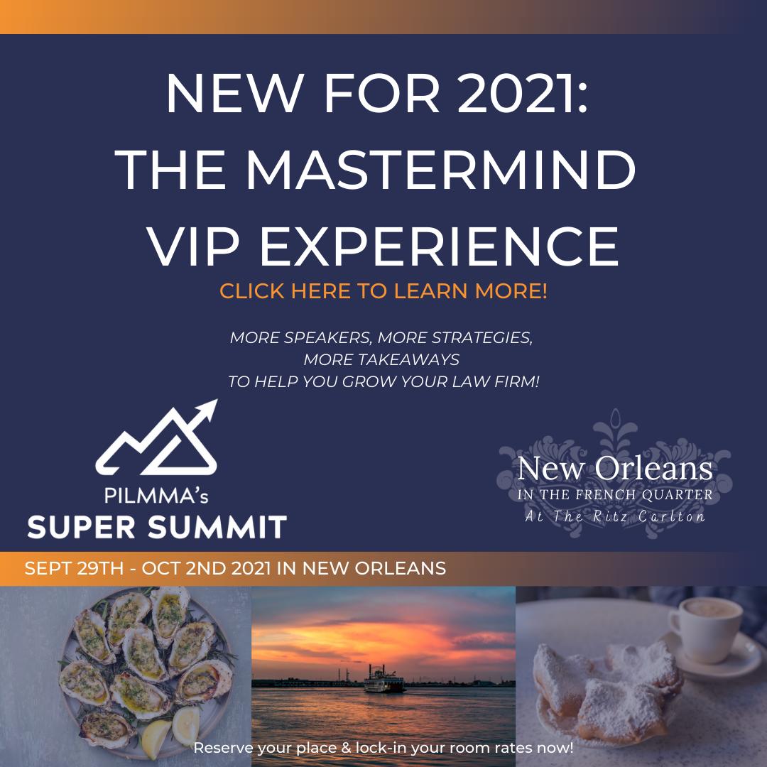 Pilmma Super Summit 2021 Banner