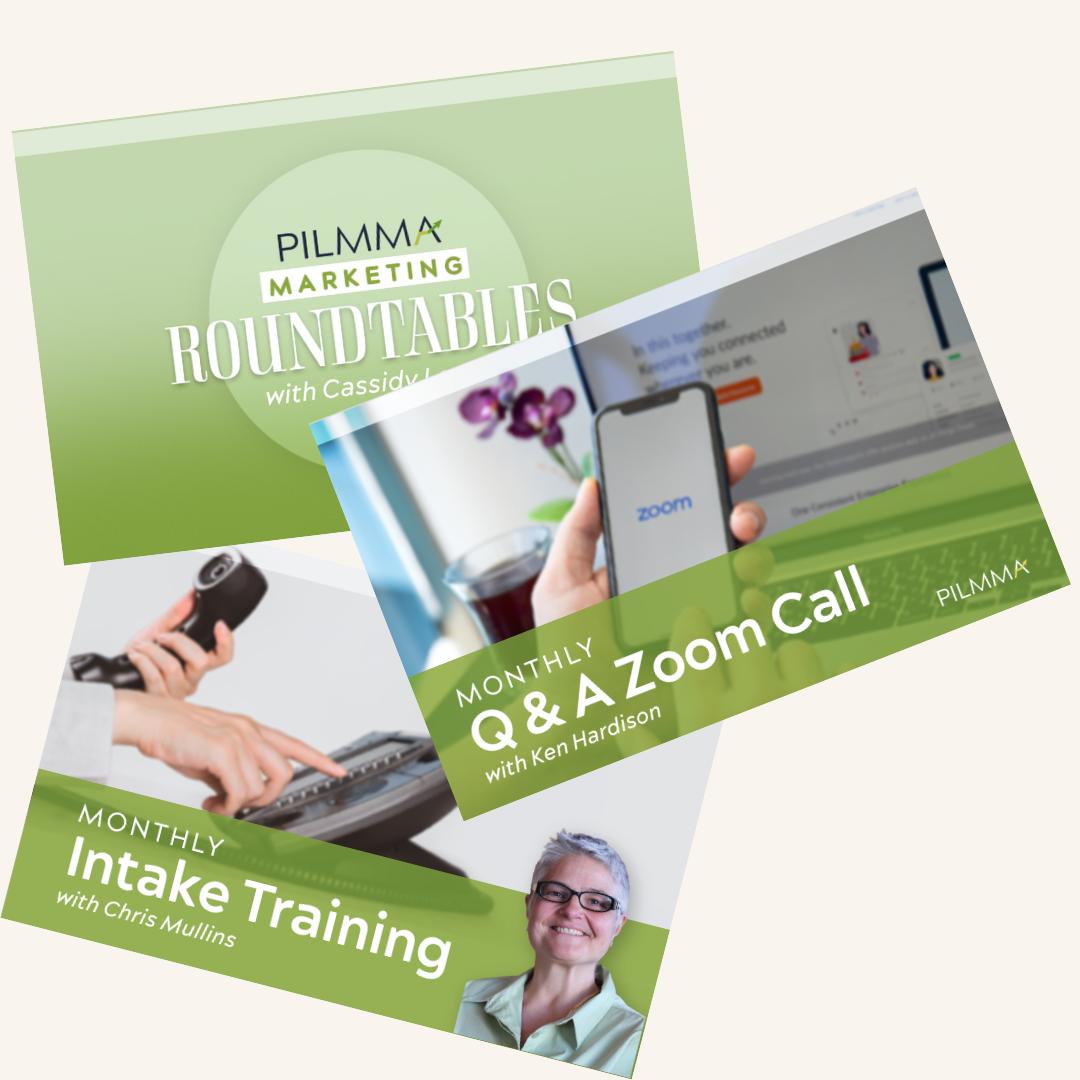 Pilmma monthly program images