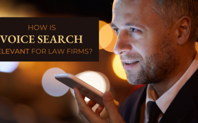 How Is Voice Search Relevant For Law Firms?