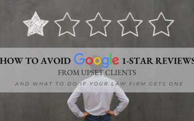 How To Avoid Google 1-Star Reviews From Upset Clients